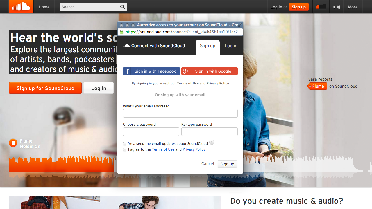 SoundCloud » Now Integrated: Google+ And Search